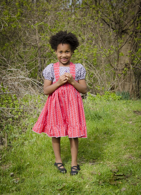 Tanya's Tie-Back Dress Sizes 6/12m to 15/16 Kids PDF Pattern