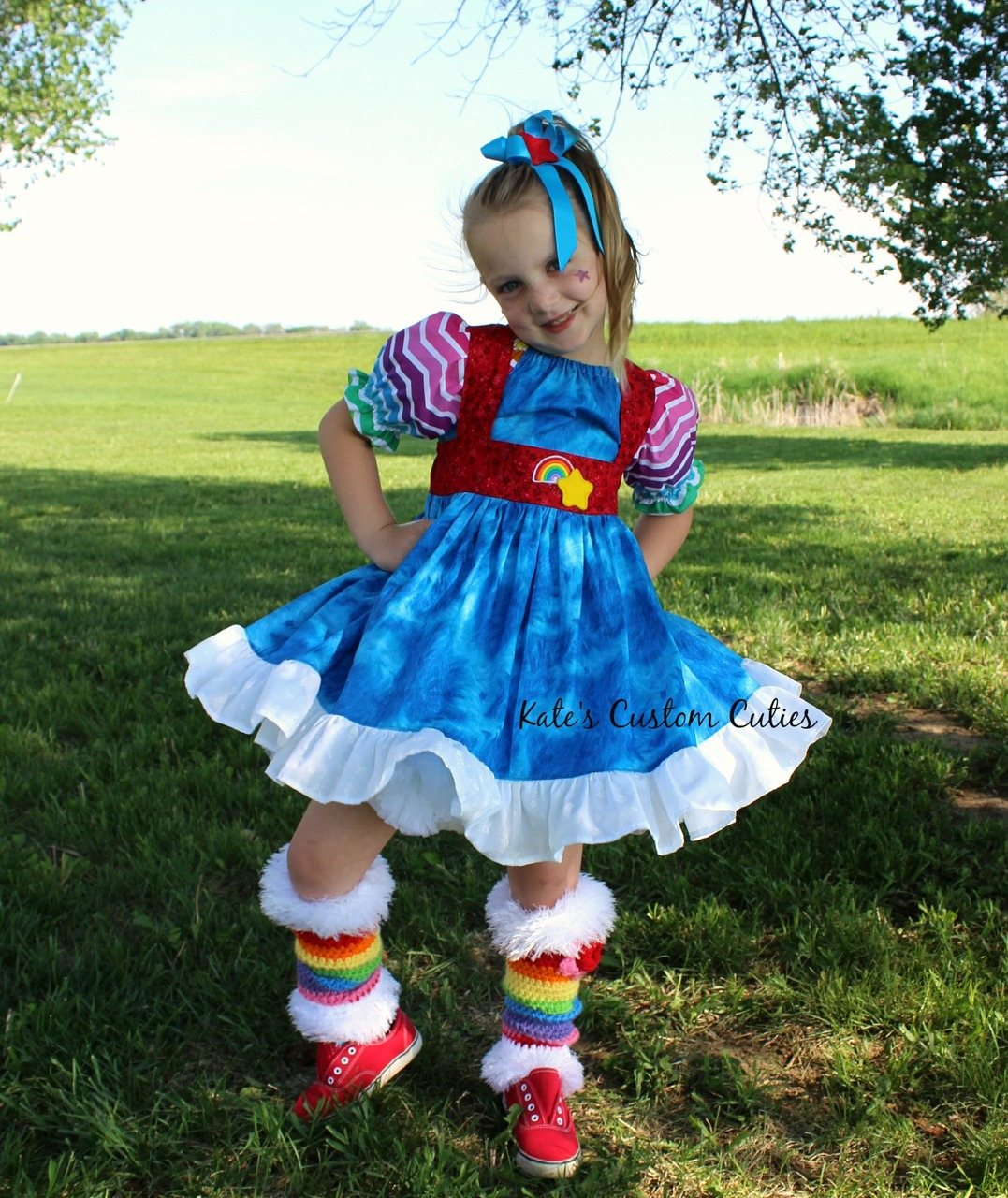 Tanya's Tie-Back Dress Sizes 6/12m to 15/16 Kids PDF Pattern
