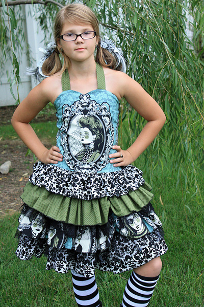 Dawn's Darling Fitted Top Sizes NB to 15/16 Kids PDF Pattern