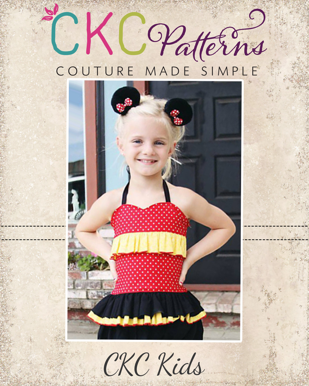 Dawn's Darling Fitted Top Sizes NB to 15/16 Kids and Dolls PDF Pattern