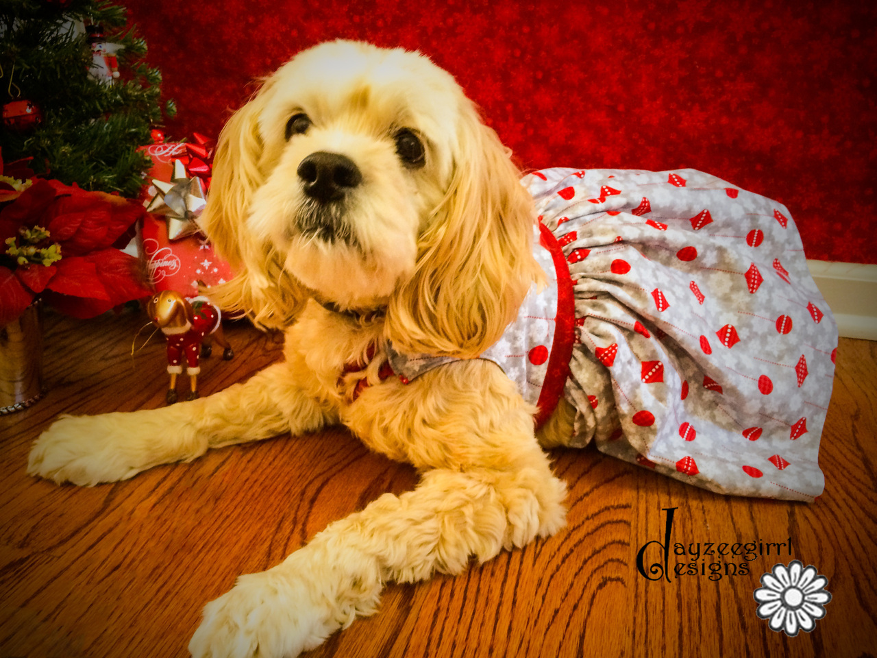 Paris' Party Dress for Small Breed Dogs PDF Pattern