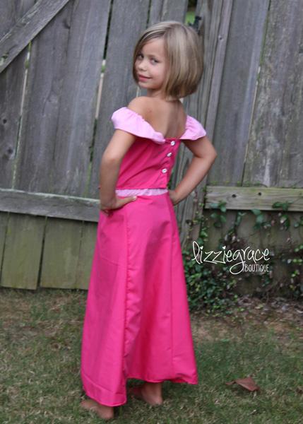 Annabelle's Princess Dress-Up Set Sizes 6/12m to 8 Kids and Dolls PDF Pattern