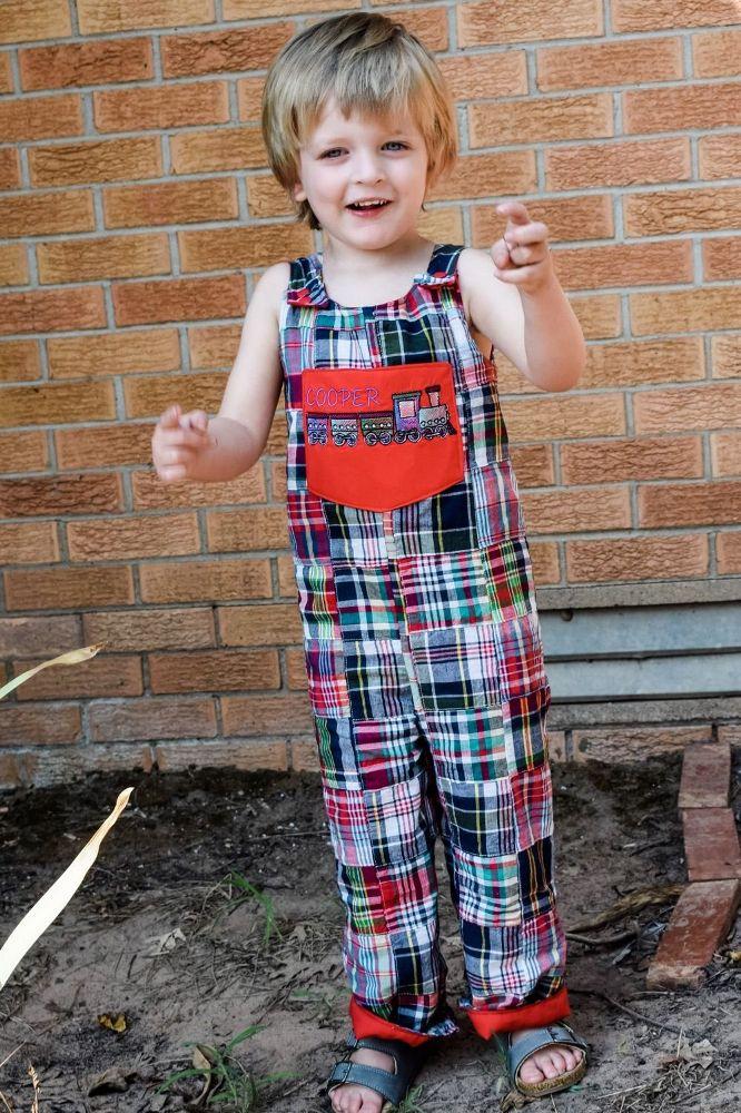 Andrews Baby Longalls Sizes NB to 4T Kids PDF Pattern