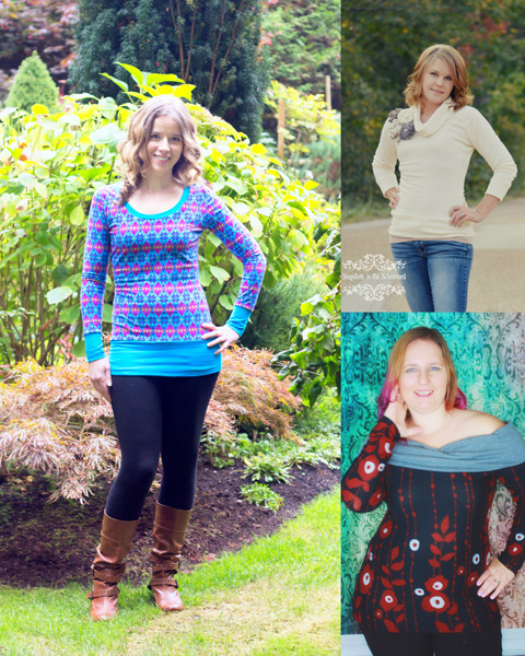 Evie's Everyday Knit Top Sizes XS to XL Adults PDF Pattern