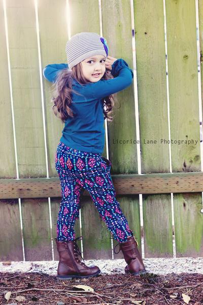 Blaycie's Skinny Pants Sizes 2T to 8 Kids PDF Pattern