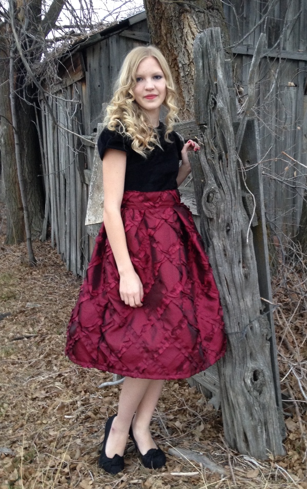 Nicole's Party Dress Sizes NB to 15/16 Kids and Dolls PDF Pattern