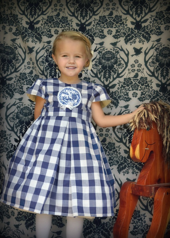 Nicole's Party Dress Sizes NB to 15/16 Kids PDF Pattern