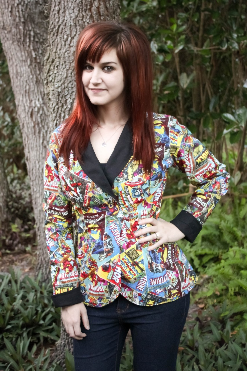 Roxie's Fitted Blazer Sizes XS to XL Adults PDF Pattern