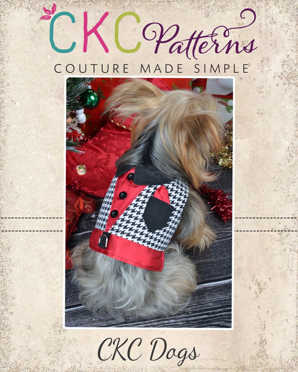 Romeo's Night Out for Small Breed Dogs PDF Pattern