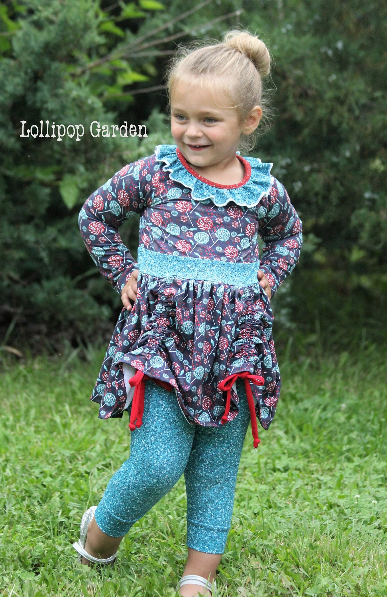 Maybi's Knit Dress and Tunic Sizes 6/12m to 8 Kids PDF Pattern
