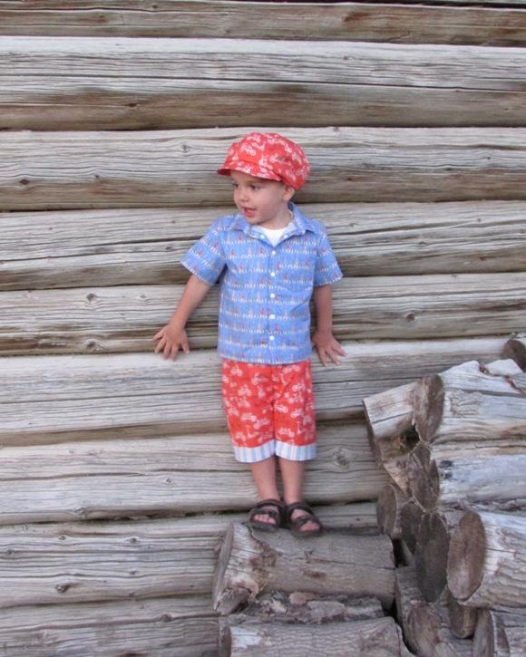 Jakob's Cuffed Shorts PDF Pattern