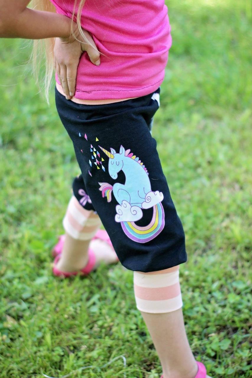 Jasmine's  Bubble Shorts, Capris, and Pants Sizes 6/12m to 8 Kids PDF Pattern
