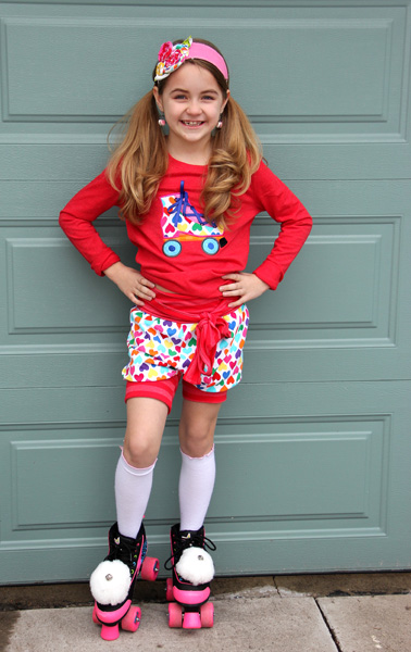 Jasmine's  Bubble Shorts, Capris, and Pants Sizes 6/12m to 8 Kids PDF Pattern