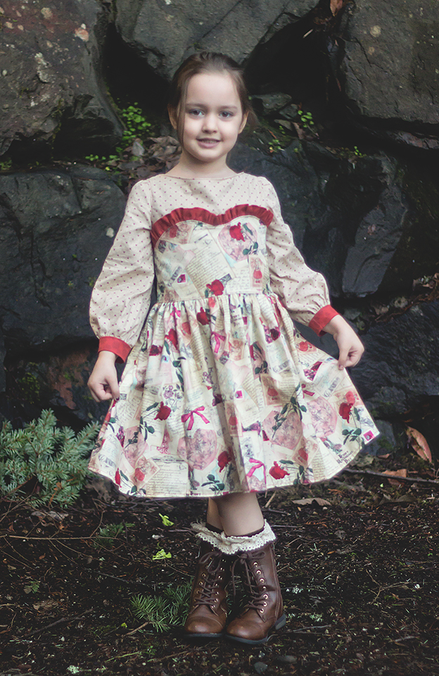 Celeste's Classic Boat Neck Dress and Top Sizes NB to 15/16 Kids PDF Pattern