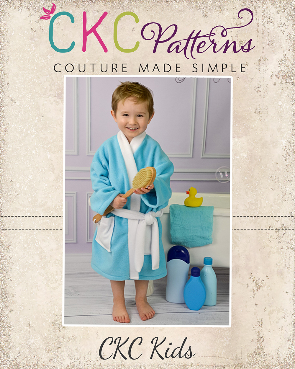 Stephen S Comfy Robe Sizes Nb To 15 16 Kids And Dolls Pdf Pattern