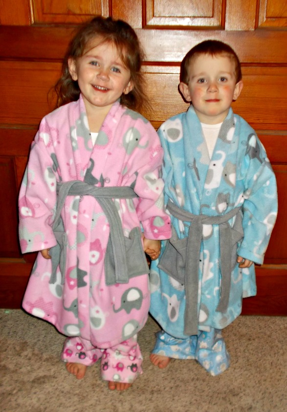 Stephen's Comfy Robe Sizes NB to 15/16 Kids and Dolls PDF Pattern