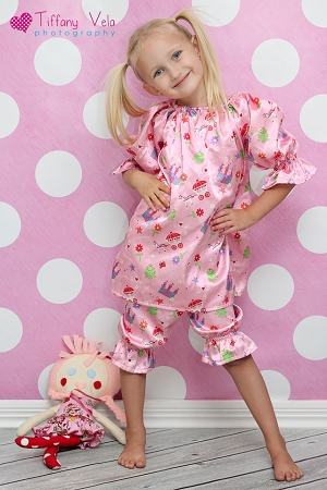 Abby's Night Gown and Bloomers Set Sizes 6/12m to 15/16 Kids PDF Pattern