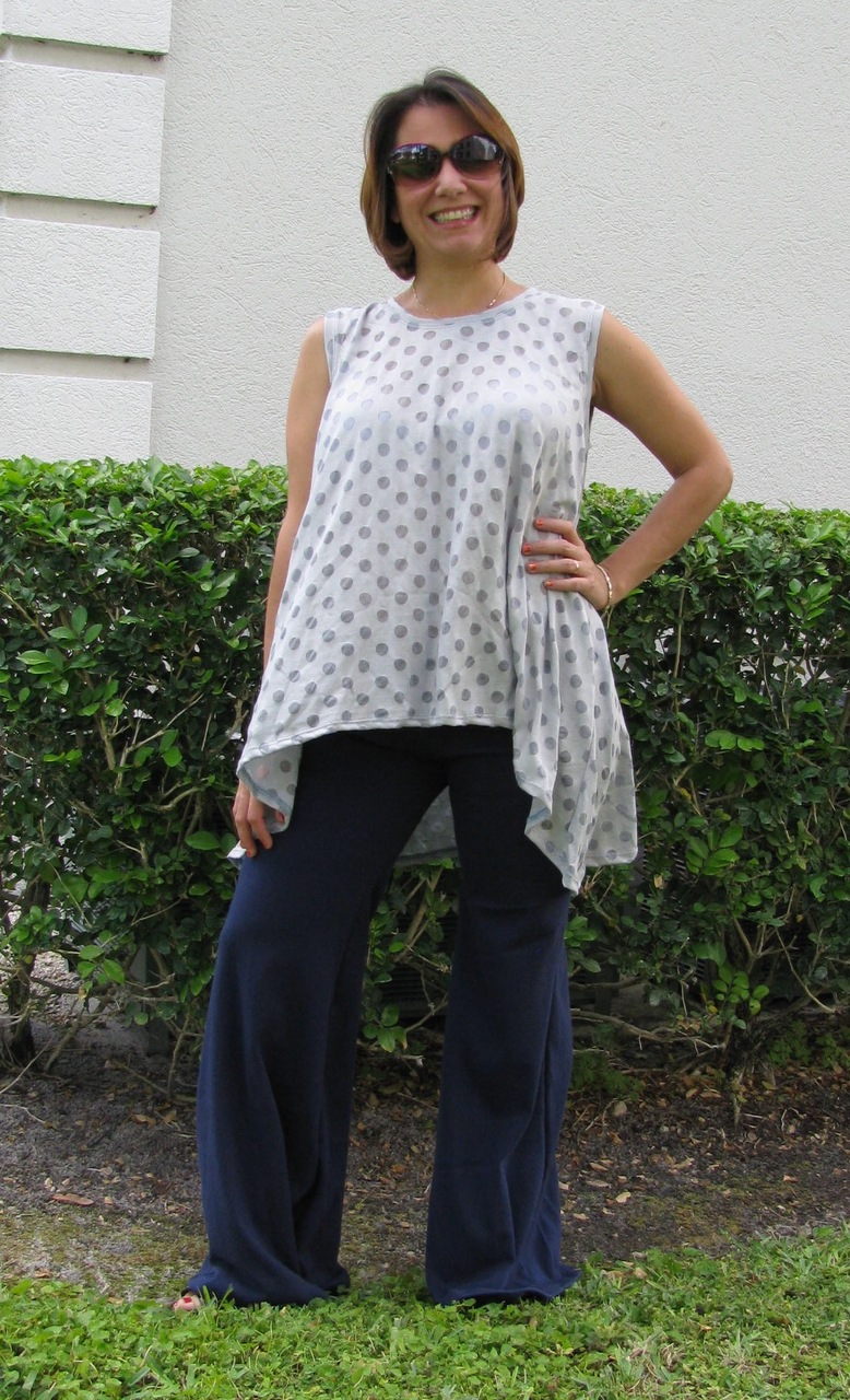 Charity's Swing, Hi-low and Handkerchief Top Sizes XS to 5X Adults PDF Pattern