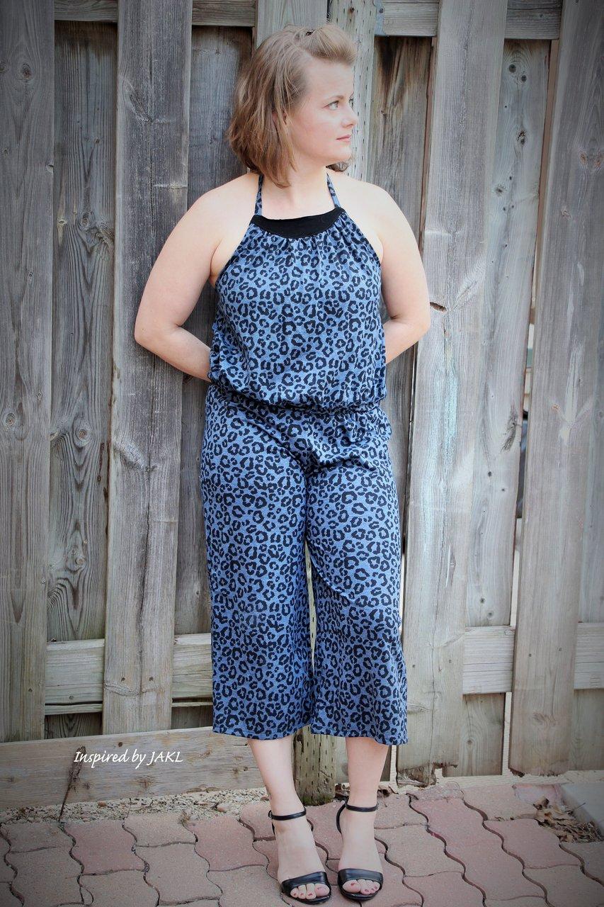 Louise's Knit Romper Sizes XS to XL Adults PDF Pattern
