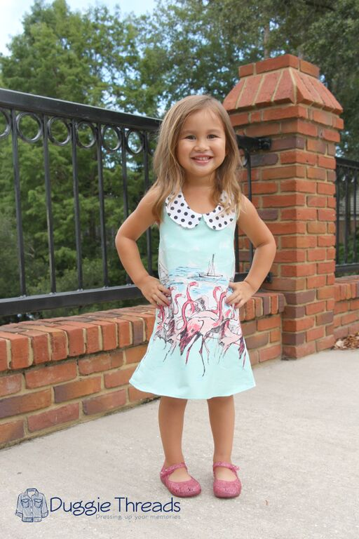 Sparrow's A-Line Halter Top, Tunic, and Dress Size NB to 15/16 Kids and Dolls PDF Pattern