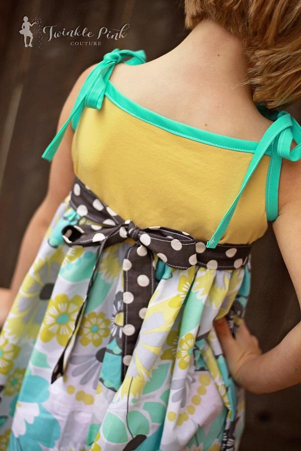 Ainsley's Tiered Knit Tank Dress and Tunic Sizes 6/12m to 8 Kids PDF Pattern