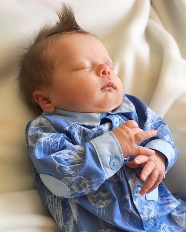 Eric's Baby Dress Shirt PDF Pattern