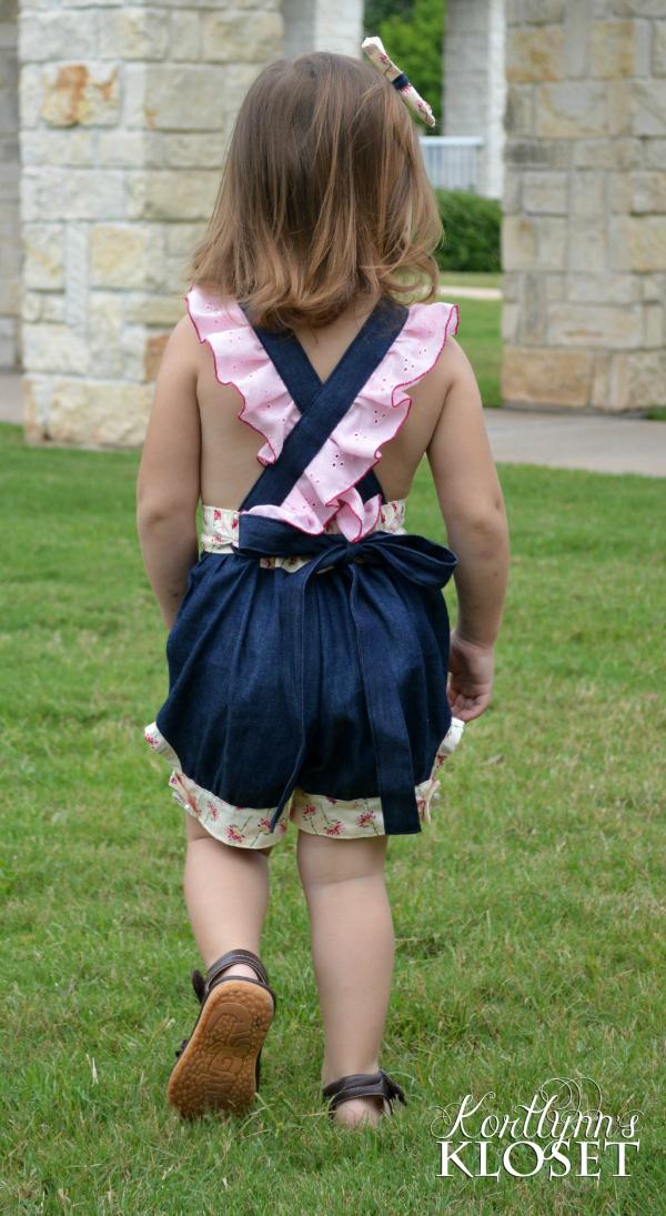 Makenna's Bubble Jumper Sizes 6/12m to 8 Kids and Dolls PDF Pattern