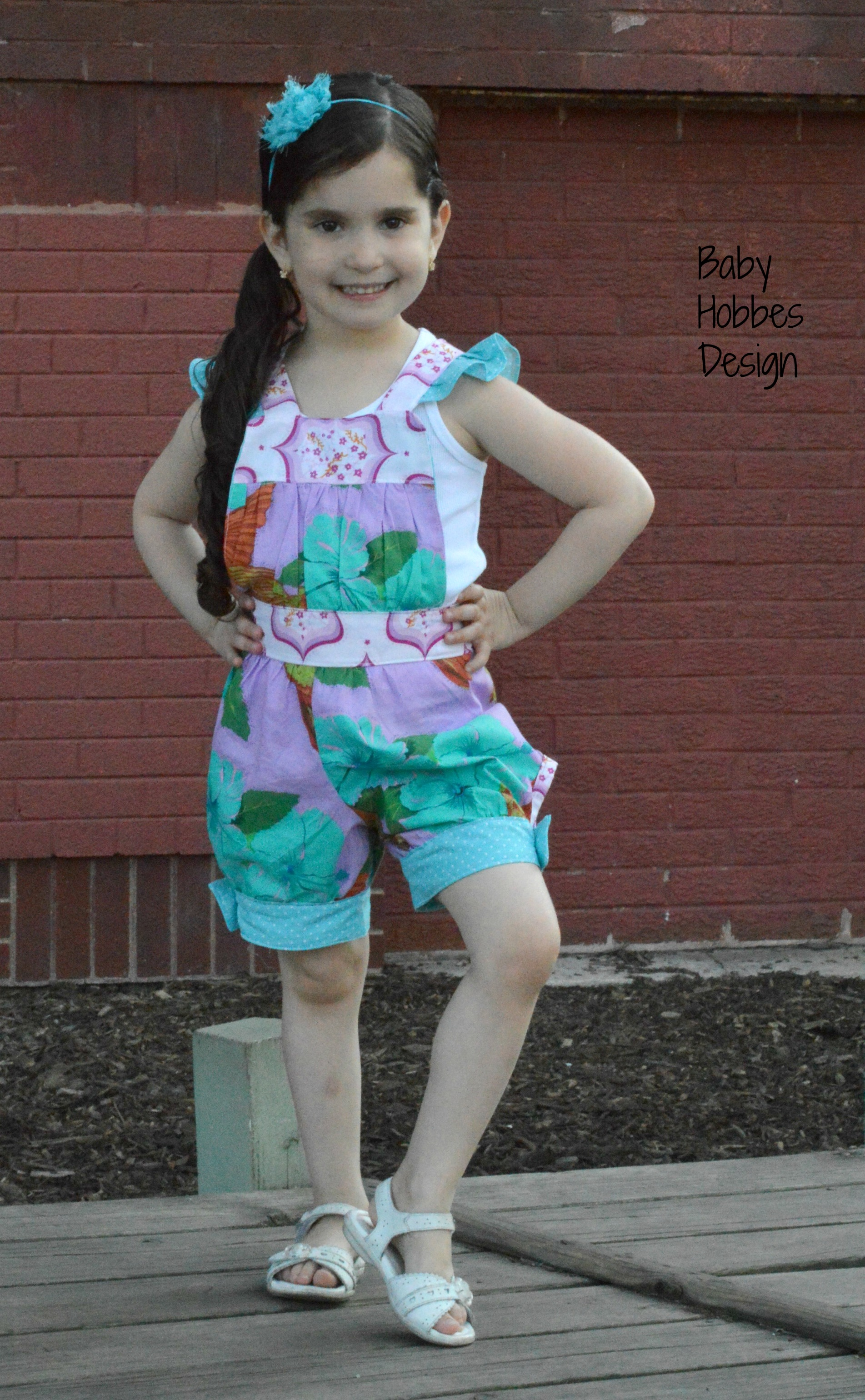 Makenna's Bubble Jumper Sizes 6/12m to 8 Kids and Dolls PDF Pattern