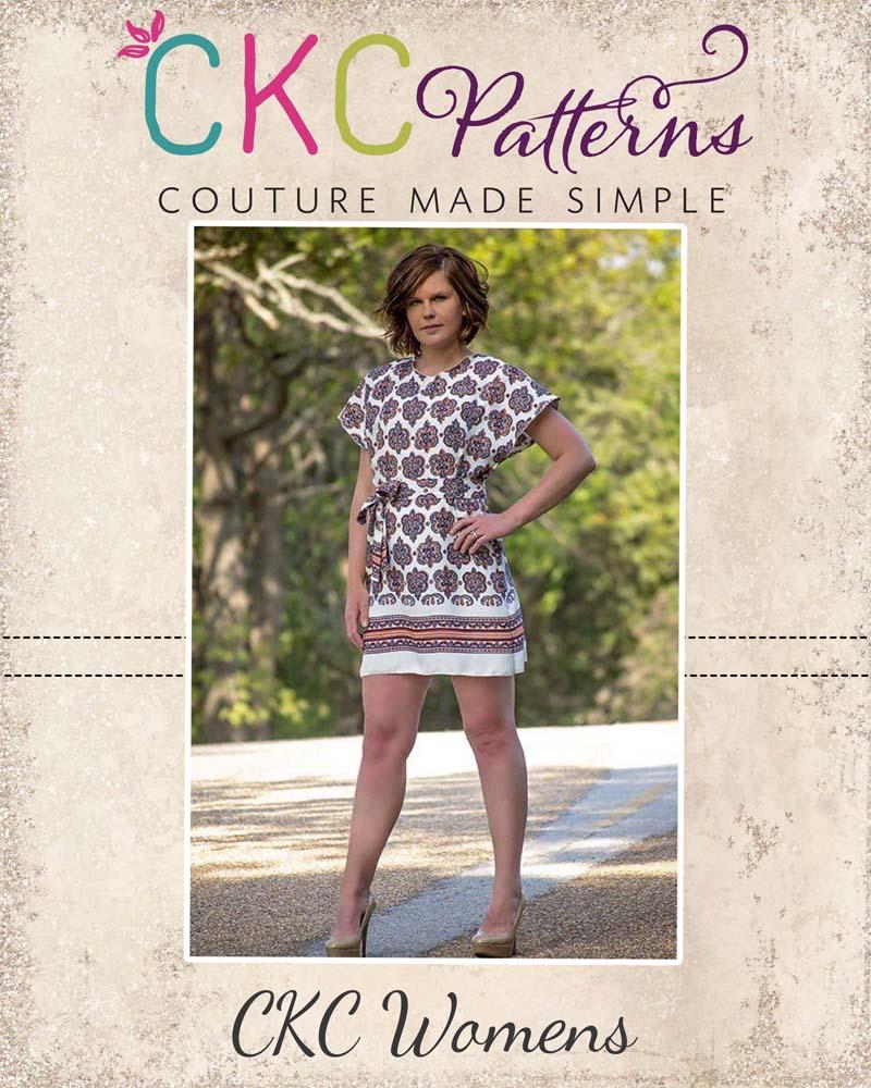 Danika's One-Piece Top and Dress Sizes XS to 5X Adults PDF Pattern