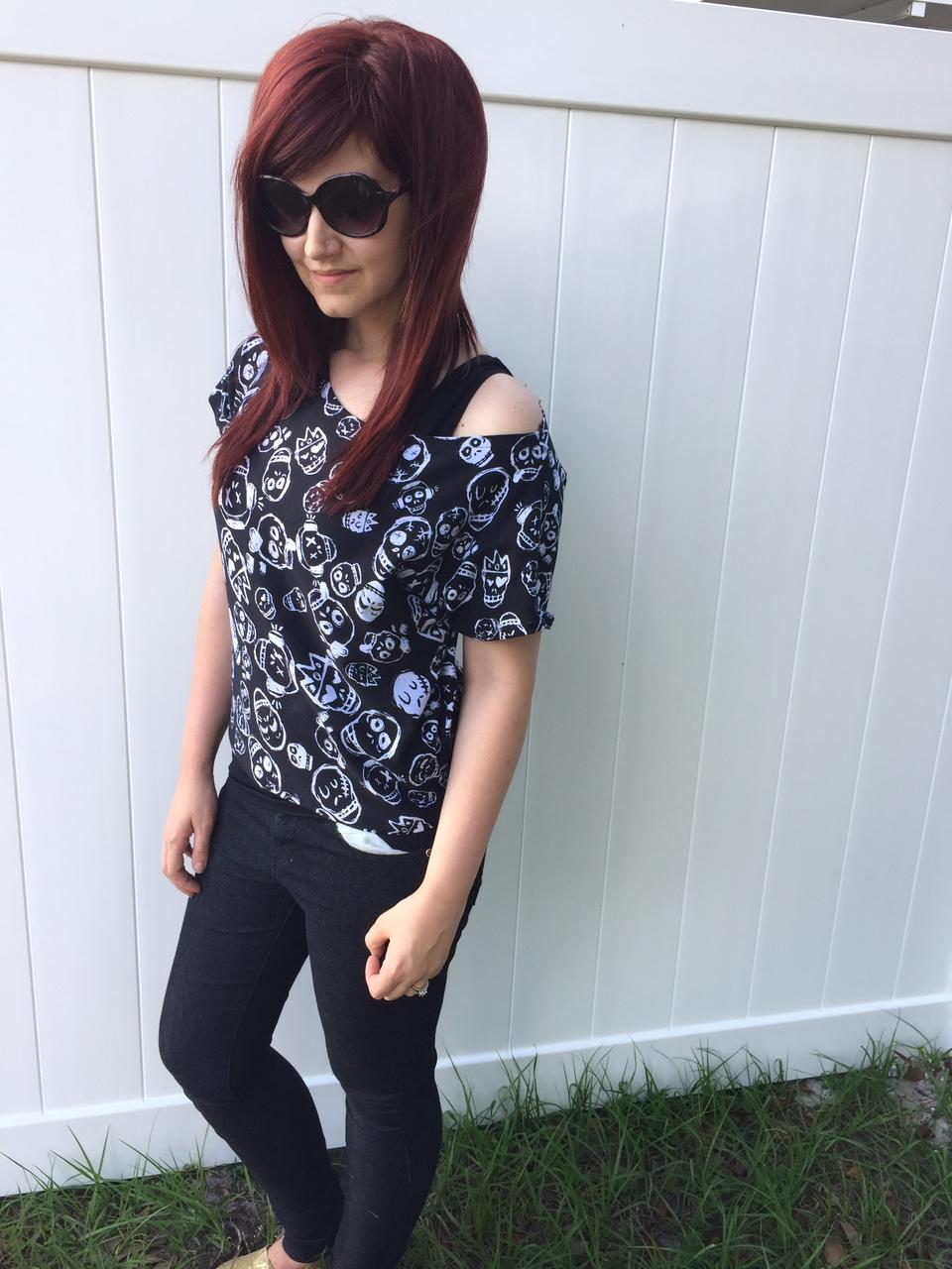 Neve's Crop Top T‐Shirt Size XS to XL Adults PDF Pattern