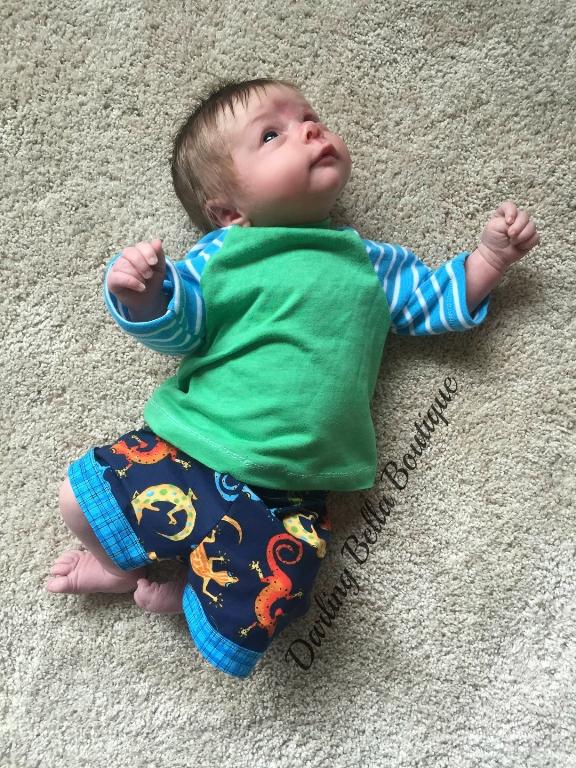Brody's Baby Baseball Tee PDF Pattern