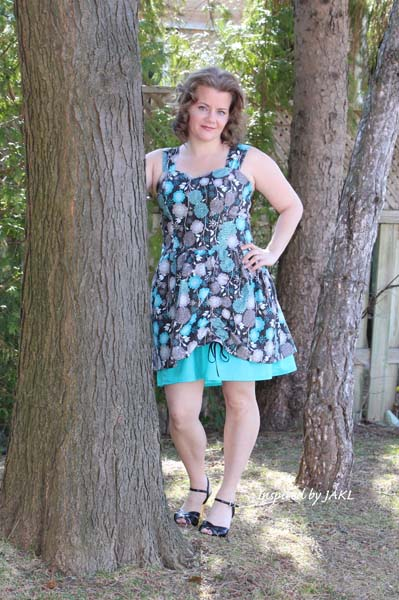 Poppy's Peekaboo Dress Sizes XS to XL AdultsPDF Pattern