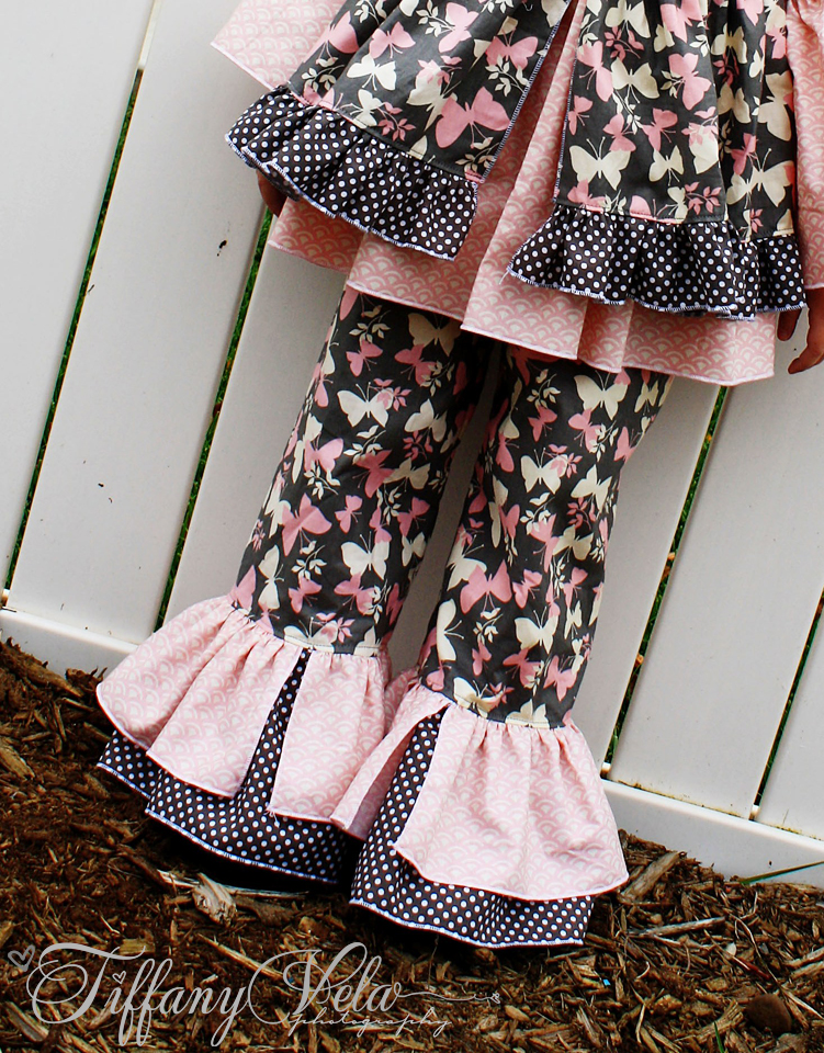 Bonnie's Princess Pants and Capris Sizes 6/12m to 8 Kids and Dolls PDF Pattern