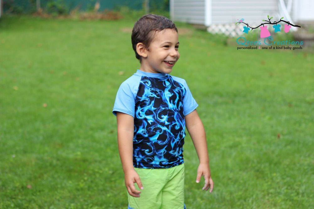 Alex's Rash Guard Tee PDF Pattern