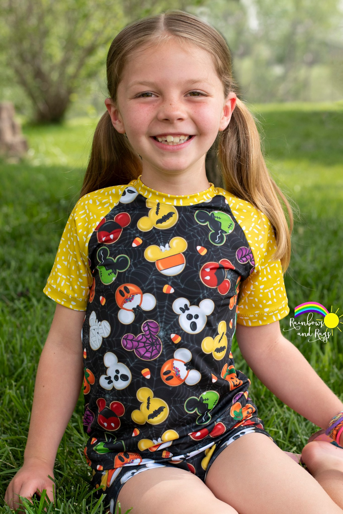Alex's Rash Guard Tee Sizes 6/12m to 15/16 Kids PDF Pattern
