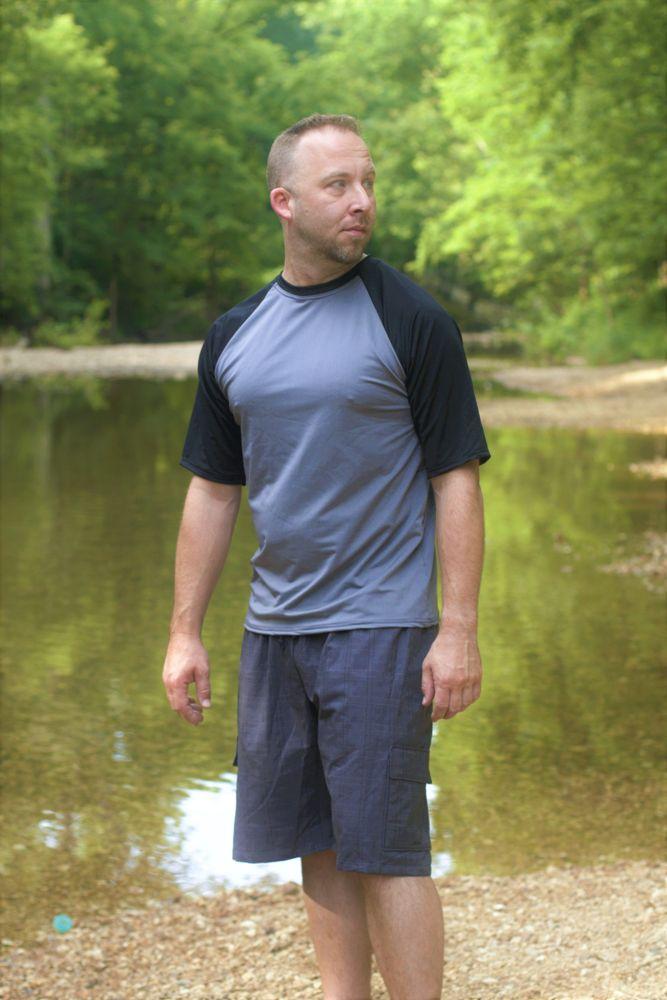 Alex's Rash Guard Tee Sizes XS to XL Adults PDF Pattern