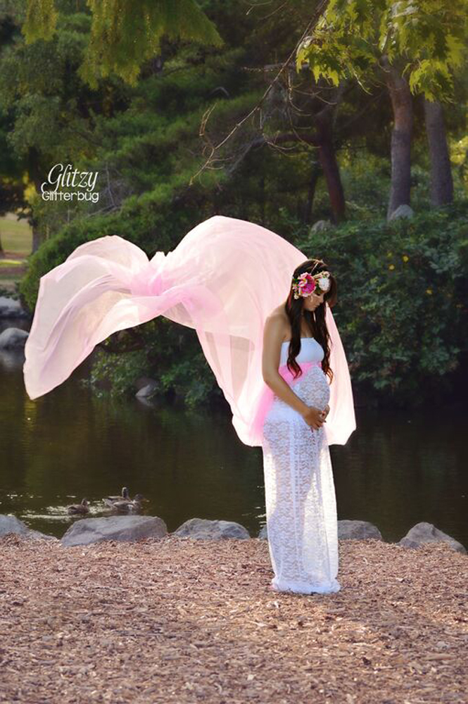 Angelica's Maternity Gown Photo Prop PDF Pattern