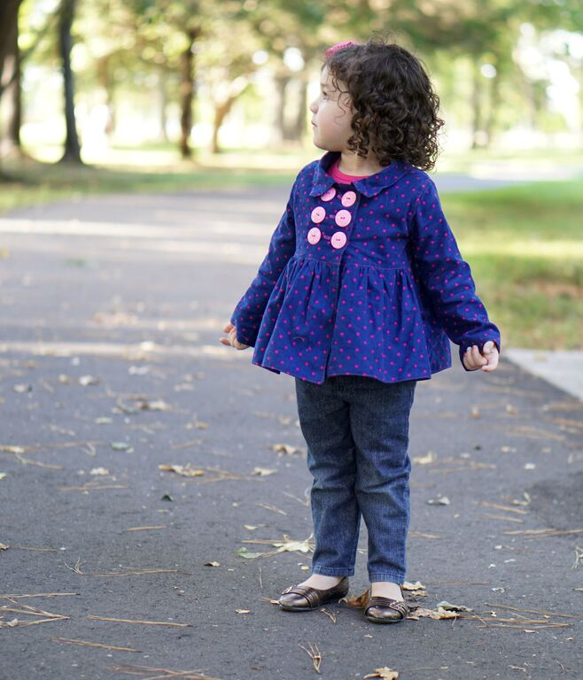 Oakley's Pea Coat Sizes NB to 15/16 Kids PDF Pattern