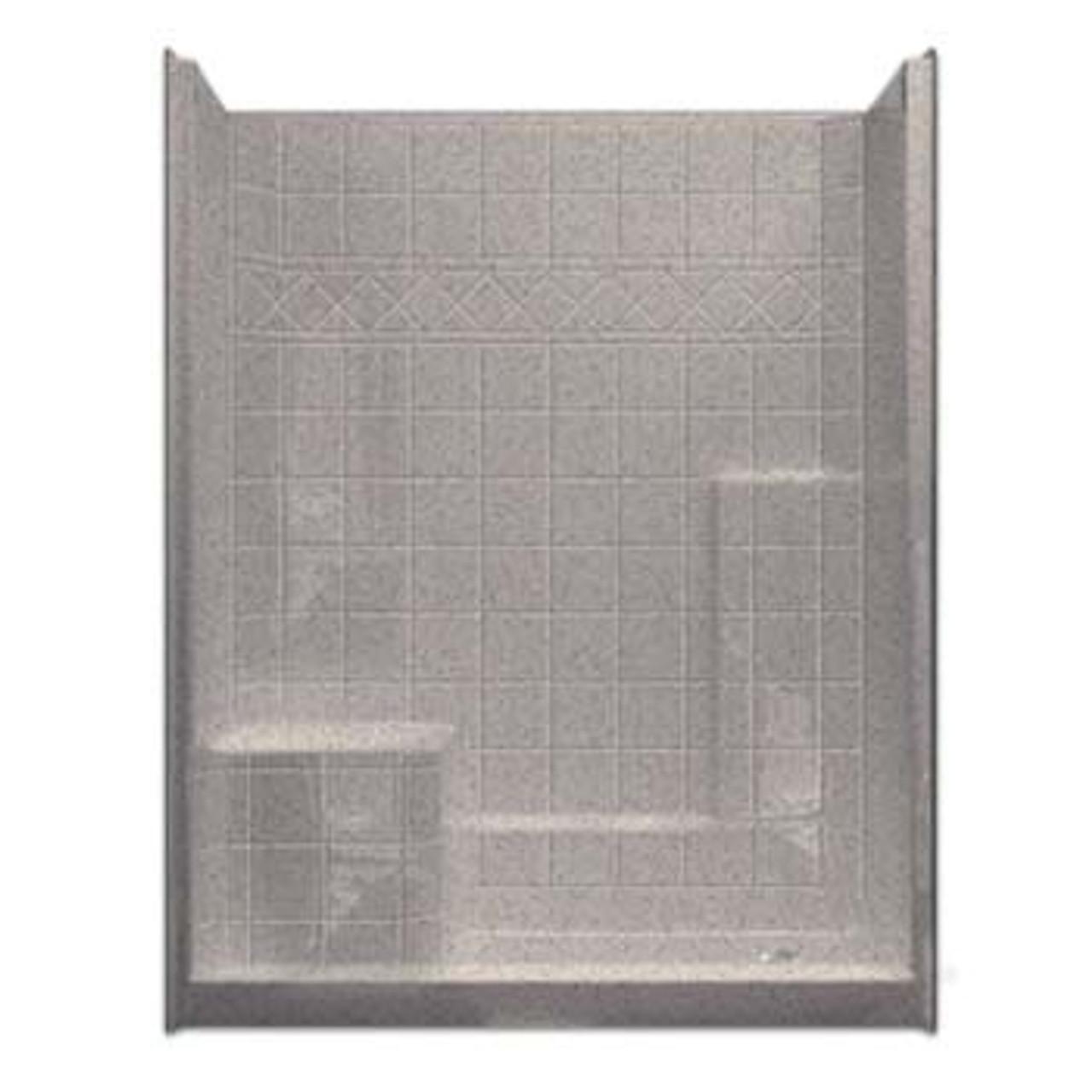 Open Top Shower Stalls