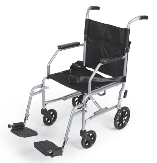 Basic Steel Transport Chair,F: 6   R: 8