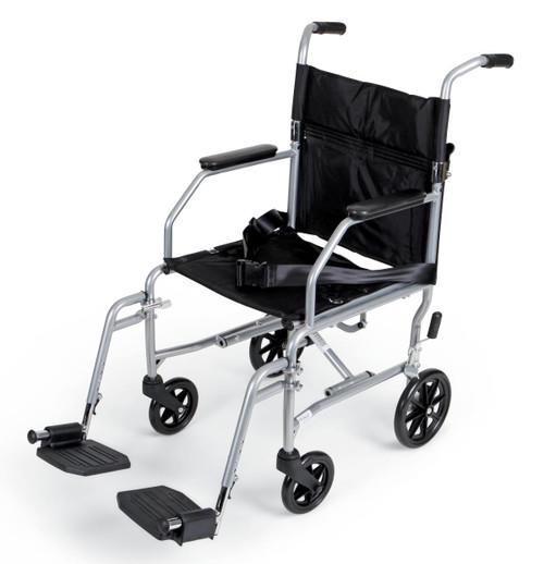 Basic Steel Transport Chair,F: 6   R: 8 2