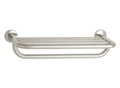 "Seachrome 'Coronado 700 Series' 18"" Towel Shelf & Bar Satin Stainless - 700-8018-SS"