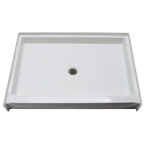 "Aquarius AcrylX™ Shower Base 54"" W x 34"" D x 6"" H Center Drain | G 5434 SH PAN  | Best priced shower pan"