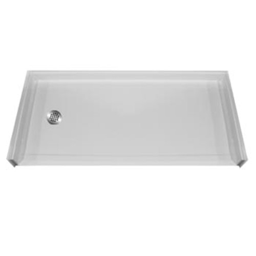 Aquarius AcrylX™ Accessible Shower Pan 54″ X 31″ X 1″  MPB 5430 BF 1.0   shower pan, shower base, shower pan sizes, ArmorCore™ Reinforcement, AcrylX™, acrylic shower pan, shower base for tile, shower base with seat, tile ready shower base, dual entry, double entry, two sided entry, corner shower base, porcelain shower base, swan veritek shower base, solid surface shower base, tile shower base, shower insert replacement, acrylic shower base, neo angle shower base, custom shower base, curbless shower pan, maax shower base, terrazzo shower base, shower pan liner, fiberglass shower pan, tile shower pan, shower pan kit, shower pan installation, shower floor pan, shower pan sizes, cheap shower base, discount shower base, low price shower base, best price shower base, tile shower base, accessible shower base, aging in place shower base, no threshold shower base, low threshold shower base, Sectional shower, cheap shower pan, low price shower pan, discount shower pan, best price shower pan, accessible shower pan, Handicap accessible shower pan, accessible shower pan, bathroom shower stalls, standing shower replacement, barrier free shower stall, no barrier shower, shower barrier,  barrier free bathroom, barrier free shower design ideas,  barrier free shower enclosure, barrier free shower floor, barrier free shower ideas, barrier free shower stall