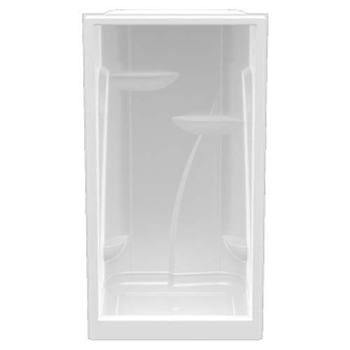"""Aquarius Premium Acrylic Extra-tall Domed Enclosed Shower 