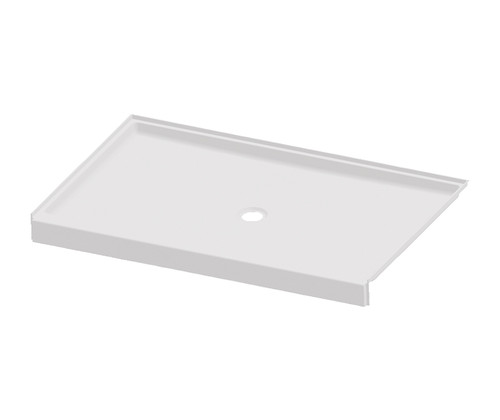 Aquarius AcrylX™ G 6038 SH PAN 4.0 ANSI-B Shower Pan Center Drain 38″ X 60″ X 4″   Key benefits This shower base features innovative installation design, including an engineered leveled base and improved front threshold. A true time and money saver, our pre-leveled base lets you install directly on a level floor. And its front threshold is engineered to keep a constant level without the use of brackets during installation. AcrylX™ Finish Pre-leveled base 4 in. Skirt Integral nailing flange Attribute set Material : AcrylX™ Series : Commercial Code compliancy : ANSI Residential Warranty : Lifetime limited Commercial Warranty : 30 Years Characteristics AcrylX™ ADA-ANSI Bestseller