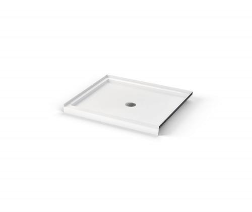 AQUARIUS ICON Shower Pan Center Drain 42″ W  X 34″ D X 3″ H  SB 4234