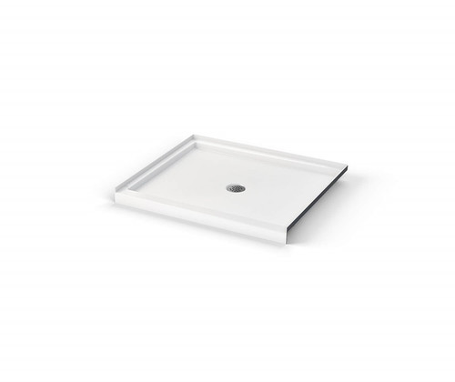 AQUARIUS ICON Shower Pan Center Drain 48″ X 32″ X 3″  SB 4832