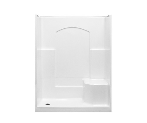 Aquarius AcrylX™ 4 Piece Sectional Shower with Left or Right Seat 32″D X 60″W X 77 1/2″H | G 3260 SH 4P 1S
