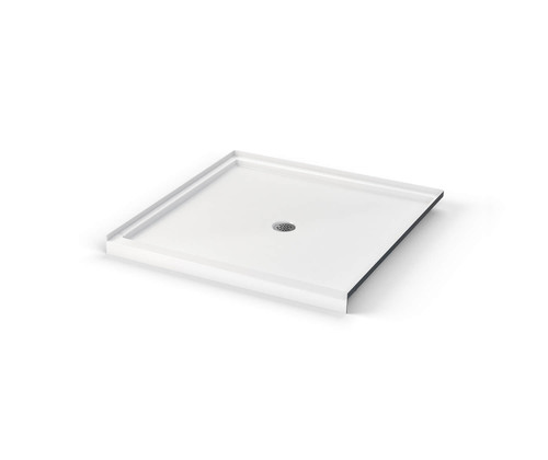 Aquarius ICON Shower Pan 48″ X 48″ X 3″ Center Drain SB 4848
